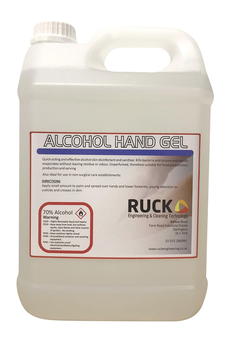 5 ltr Alcohol Hand Gel