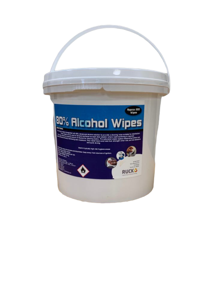 80 % Alcohol heavy duty Jumbo wipes