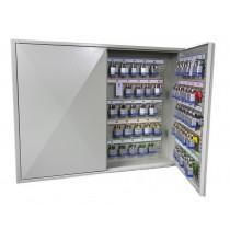 Deep Key 100 Hook Transponder Cabinet - Open