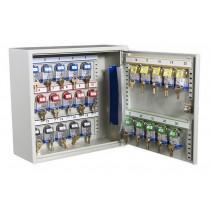 Deep Key 25 Hook Transponder Cabinet - Open