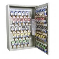 Deep Key 50 Hook Transponder Cabinet - Open