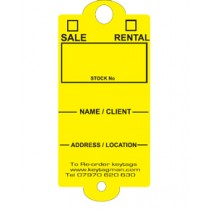 Real Estate & Estate Agent Key Tag